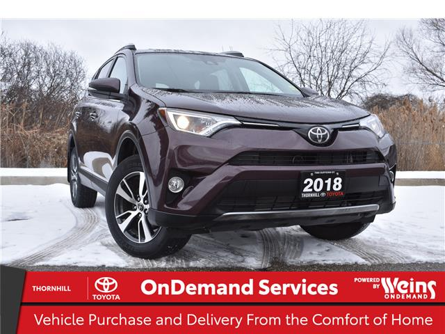 2018 Toyota RAV4 XLE (Stk: U3884) in Concord - Image 1 of 24