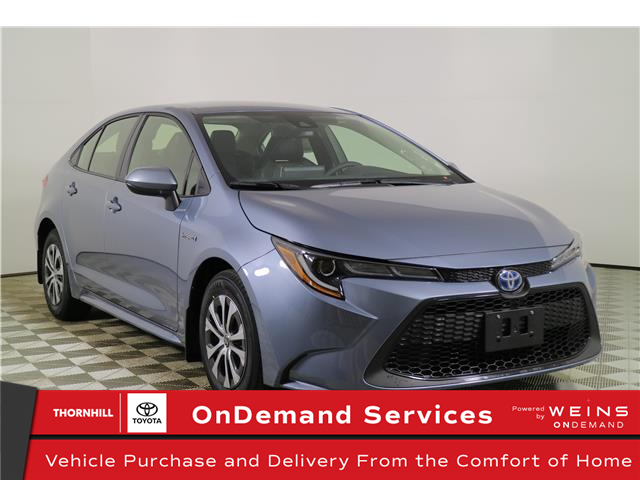 2021 Toyota Corolla Hybrid Base w/Li Battery (Stk: 300661) in Concord - Image 1 of 24