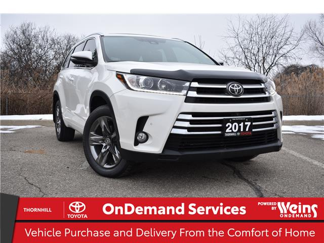 2017 Toyota Highlander Limited (Stk: U3782A) in Concord - Image 1 of 34