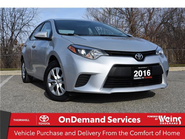 2016 Toyota Corolla CE (Stk: U3763) in Concord - Image 1 of 20