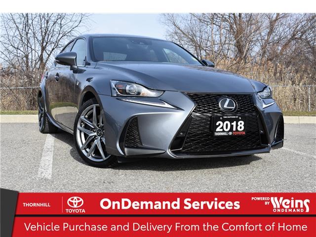 2018 Lexus IS 300 Base (Stk: U3918) in Concord - Image 1 of 38