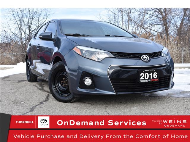 2016 Toyota Corolla S (Stk: U3954A) in Concord - Image 1 of 21