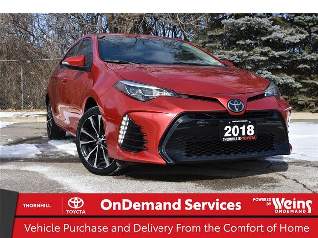 2018 Toyota Corolla SE (Stk: U3784A) in Concord - Image 1 of 23