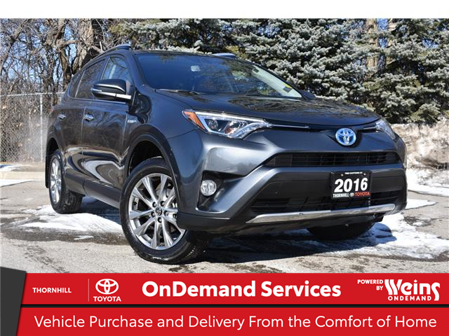 2016 Toyota RAV4 Hybrid Limited (Stk: 310073A) in Concord - Image 1 of 29
