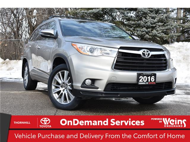 2016 Toyota Highlander XLE (Stk: U3995) in Concord - Image 1 of 28