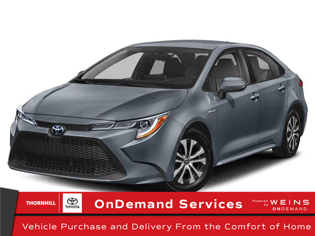 2021 Toyota Corolla Hybrid Base (Stk: 310151) in Concord - Image 1 of 9