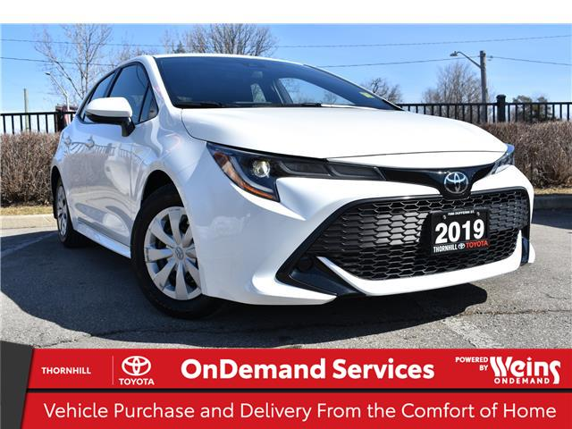 2019 Toyota Corolla Hatchback Base (Stk: U4026) in Concord - Image 1 of 22
