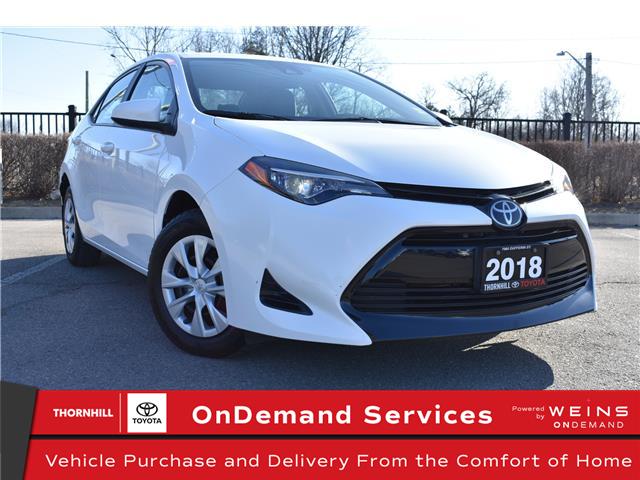 2018 Toyota Corolla CE (Stk: U4012) in Concord - Image 1 of 21