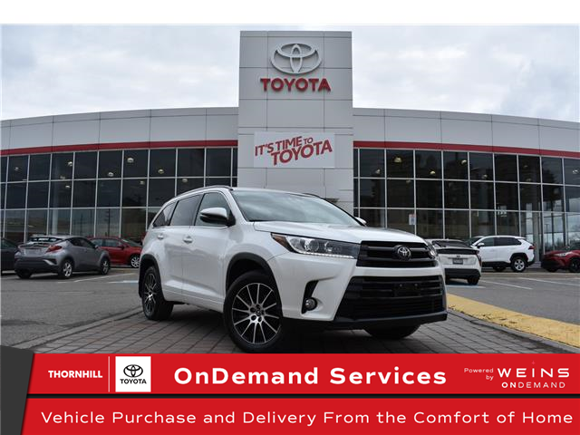 2017 Toyota Highlander XLE (Stk: U4099) in Concord - Image 1 of 29