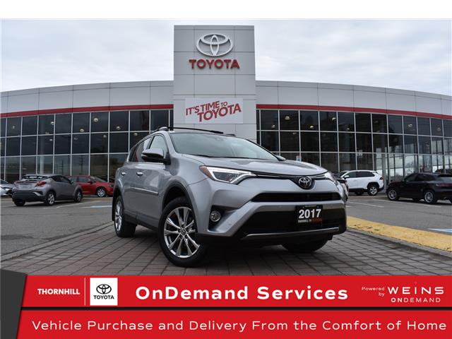 2017 Toyota RAV4 Limited (Stk: U4115) in Concord - Image 1 of 24