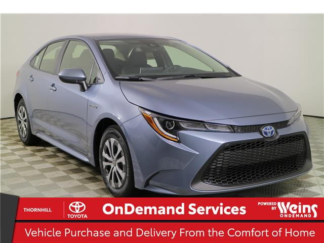 2021 Toyota Corolla Hybrid Base w/Li Battery (Stk: 310334) in Concord - Image 1 of 24