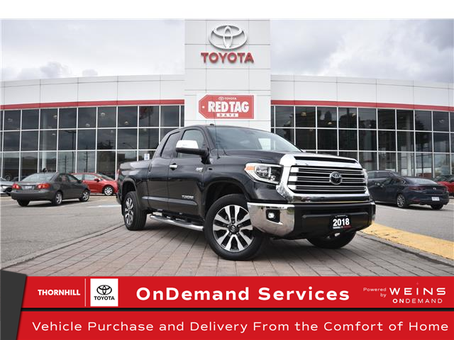 2018 Toyota Tundra Limited 5.7L V8 (Stk: U4165) in Concord - Image 1 of 30