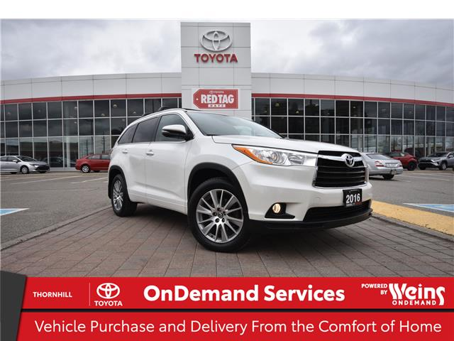 2016 Toyota Highlander XLE (Stk: 310337A) in Concord - Image 1 of 30