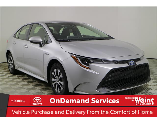 2021 Toyota Corolla Hybrid Base w/Li Battery (Stk: 310380) in Concord - Image 1 of 24