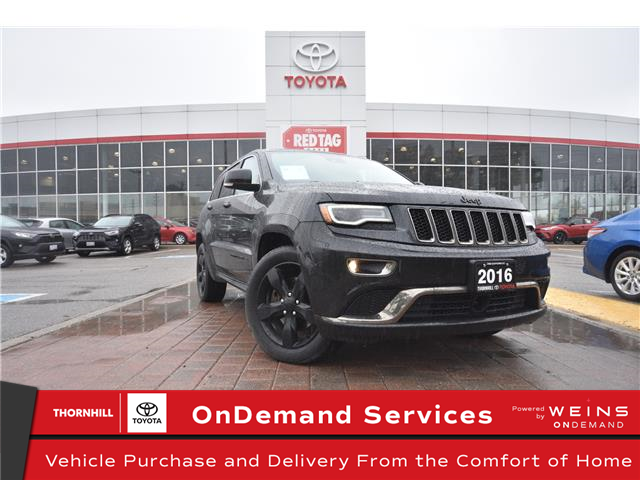 2016 Jeep Grand Cherokee Overland (Stk: U4233) in Concord - Image 1 of 32