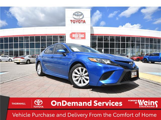 2018 Toyota Camry SE (Stk: U4201) in Concord - Image 1 of 27