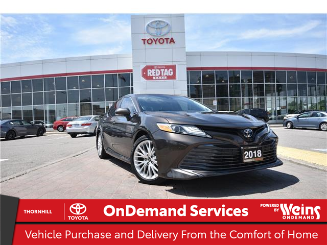 2018 Toyota Camry Hybrid XLE (Stk: U4321) in Concord - Image 1 of 28