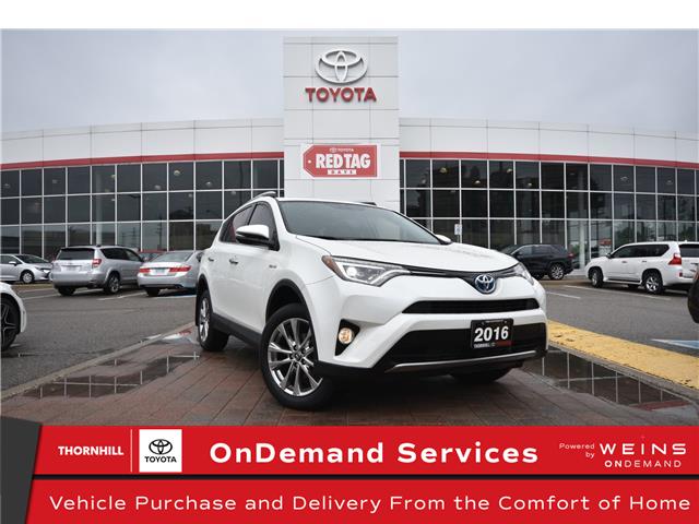 2016 Toyota RAV4 Hybrid Limited (Stk: U4340) in Concord - Image 1 of 28