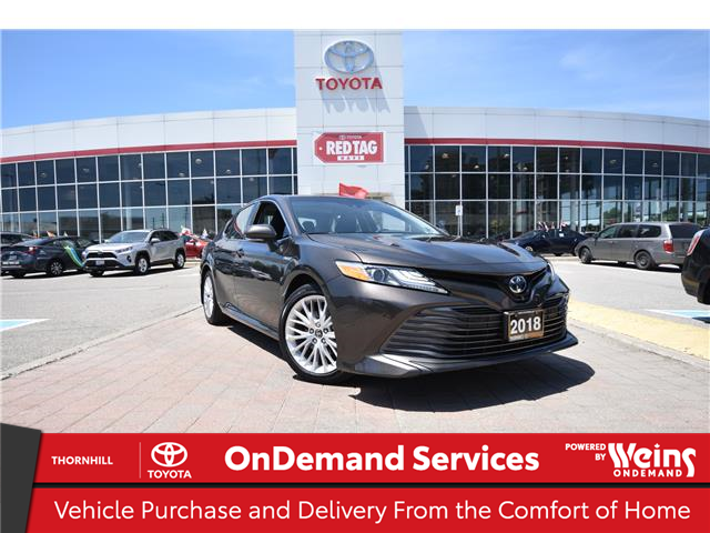 2018 Toyota Camry Hybrid XLE (Stk: U4360) in Concord - Image 1 of 34