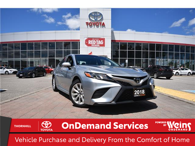 2018 Toyota Camry SE (Stk: U4401) in Concord - Image 1 of 26