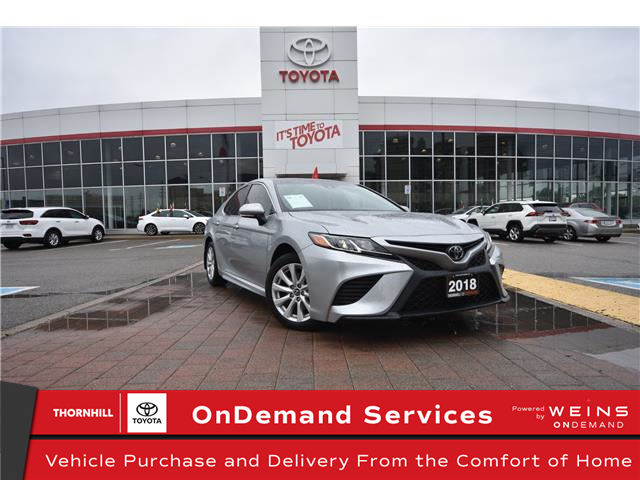 2018 Toyota Camry SE (Stk: U4445) in Concord - Image 1 of 25