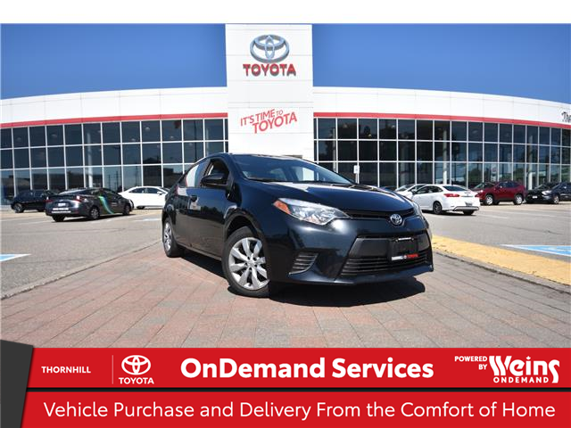 2016 Toyota Corolla LE (Stk: 310759A) in Concord - Image 1 of 1