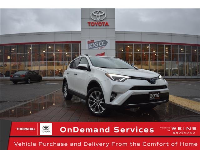 2016 Toyota RAV4 Hybrid Limited (Stk: 12100594A) in Concord - Image 1 of 1