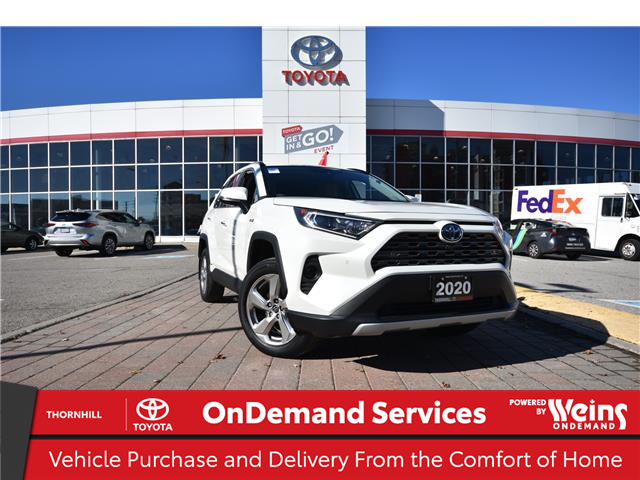 2020 Toyota RAV4 Hybrid Limited (Stk: 12100581A) in Concord - Image 1 of 33