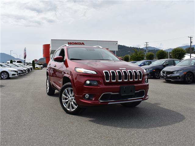 2017 Jeep Cherokee Overland (Stk: 20D282A) in Chilliwack - Image 1 of 29