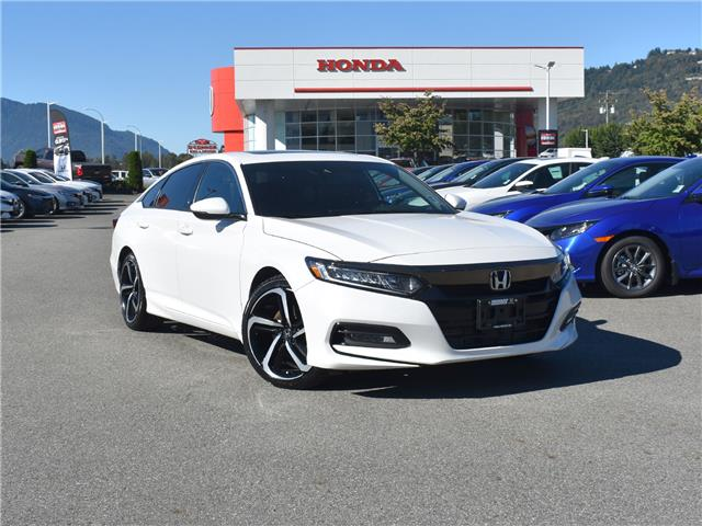 2018 Honda Accord Sport (Stk: 20H254A) in Chilliwack - Image 1 of 30