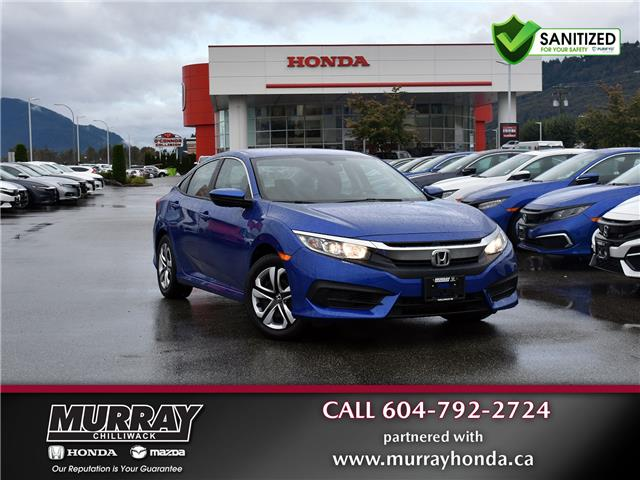 2018 Honda Civic LX (Stk: 20H344A) in Chilliwack - Image 1 of 29