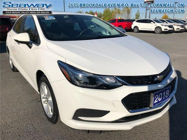 2018 Chevrolet Cruze LT Auto (Stk: S2354) in Cornwall - Image 1 of 16