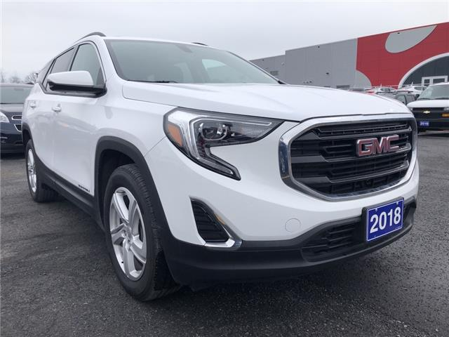 2018 GMC Terrain SLE (Stk: B2237A) in Cornwall - Image 1 of 19