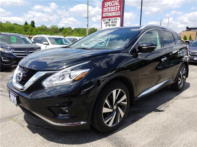 2015 Nissan Murano Platinum (Stk: 221057) in Cambridge - Image 1 of 26