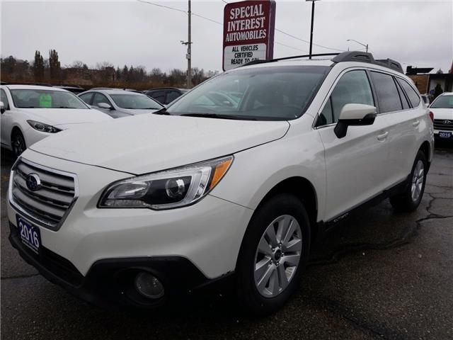 2016 Subaru Outback 2.5i Touring Package (Stk: 293981) in Cambridge - Image 1 of 26