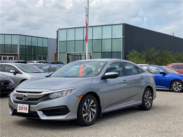 2016 Honda Civic EX (Stk: U7074) in Waterloo - Image 1 of 3