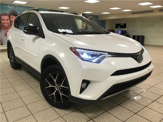 2018 Toyota RAV4 SE (Stk: 210592A) in Calgary - Image 1 of 11