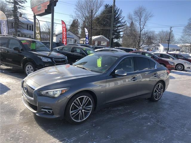 2015 Infiniti Q50 4dr Sdn Sport AWD (Stk: 14660p) in Fredericton - Image 1 of 9
