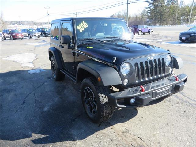 2016 Jeep Wrangler Rubicon (Stk: 34385P) in Fredericton - Image 1 of 11