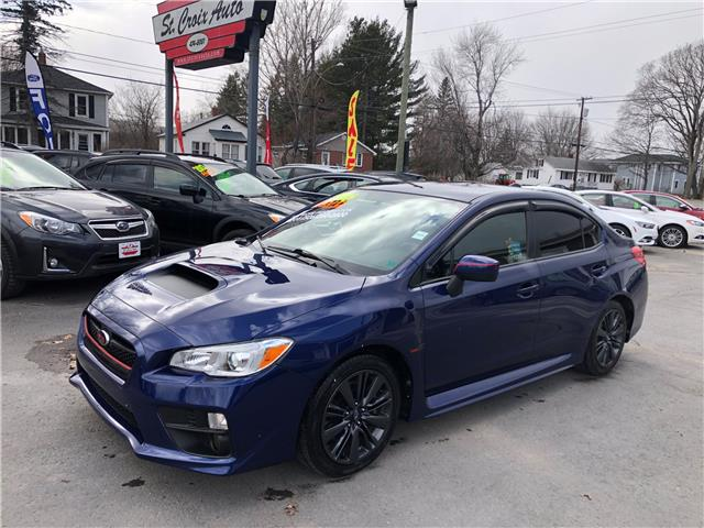 2016 Subaru WRX Base (Stk: S200016A) in Fredericton - Image 1 of 15