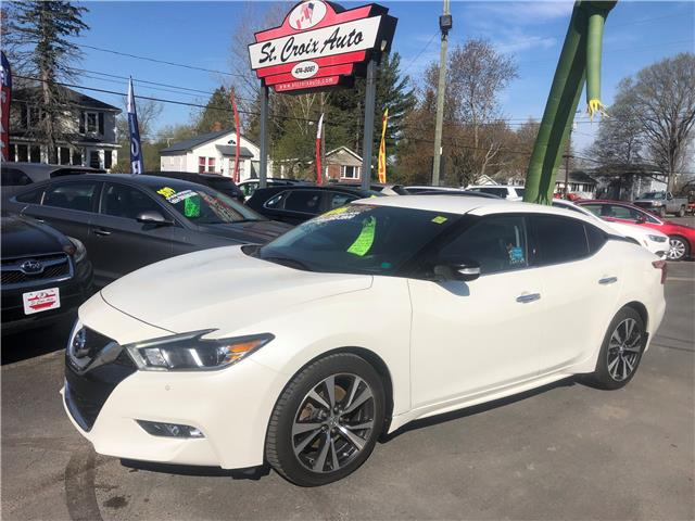 2016 Nissan Maxima SV (Stk: 45689P) in Fredericton - Image 1 of 9