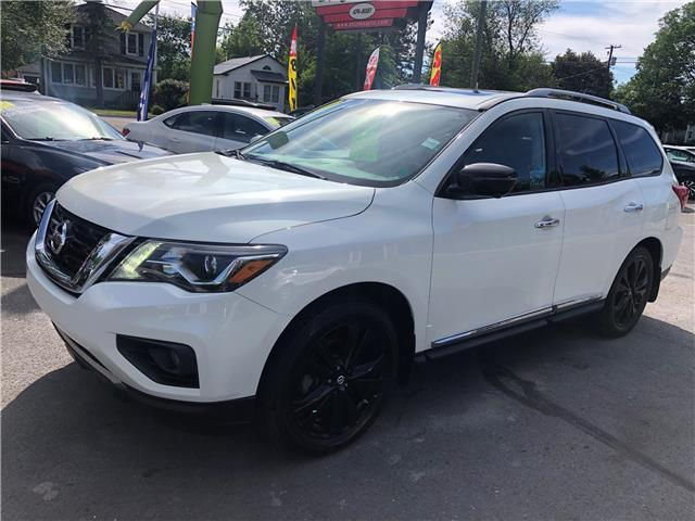2017 Nissan Pathfinder Platinum (Stk: s200085a) in Fredericton - Image 1 of 11