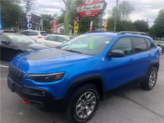 2020 Jeep Cherokee Trailhawk (Stk: S200145A) in Fredericton - Image 1 of 8