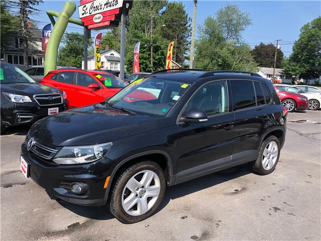 2016 Volkswagen Tiguan Highline (Stk: S200201A) in Fredericton - Image 1 of 11