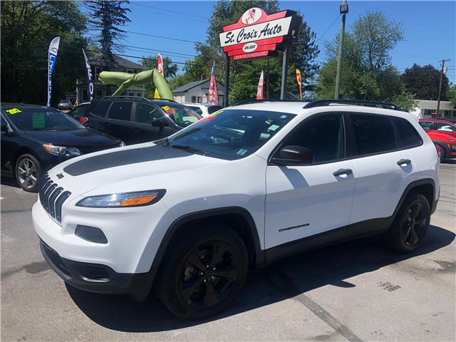 2017 Jeep Cherokee Sport (Stk: s200183a) in Fredericton - Image 1 of 7