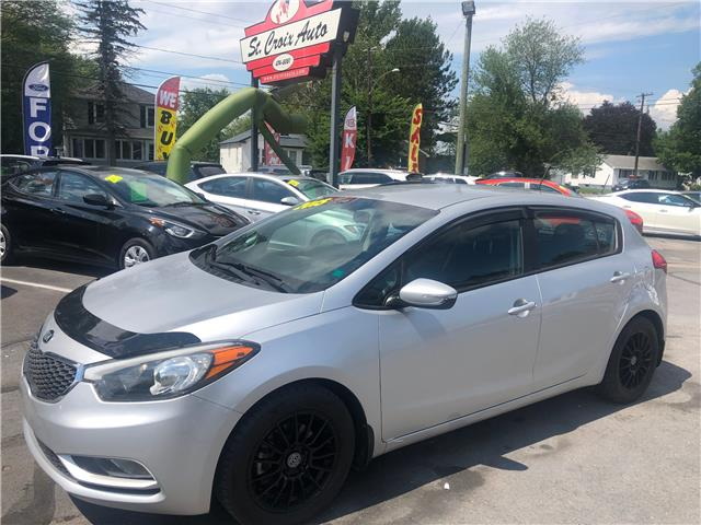 2015 Kia Forte 2.0L LX+ (Stk: s200237a) in Fredericton - Image 1 of 9