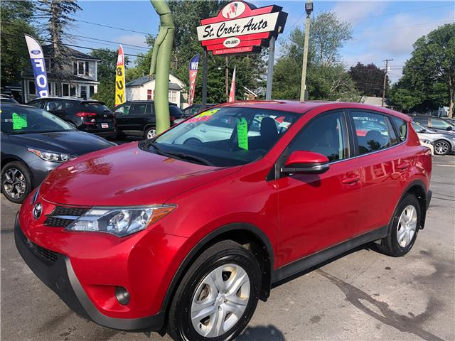 2015 Toyota RAV4 LE (Stk: s200246a) in Fredericton - Image 1 of 9