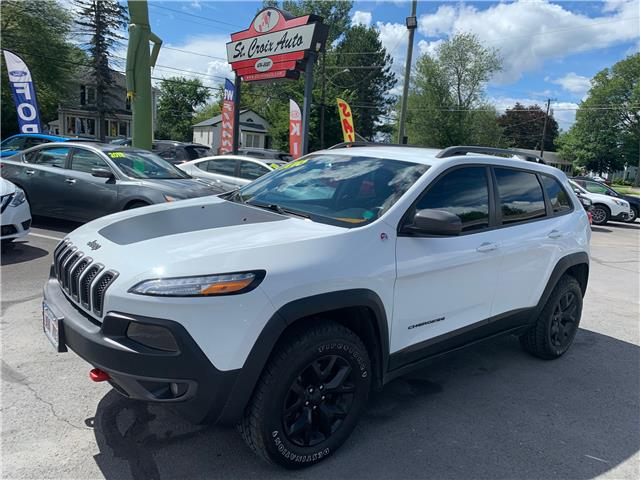2016 Jeep Cherokee Trailhawk (Stk: S200077B) in Fredericton - Image 1 of 18