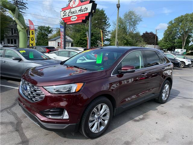 2019 Ford Edge Titanium (Stk: ) in Fredericton - Image 1 of 19