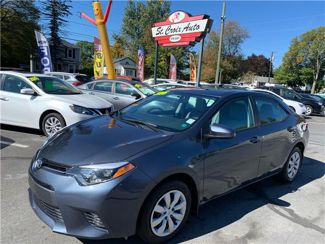 2016 Toyota Corolla CE (Stk: S200346A) in Fredericton - Image 1 of 8